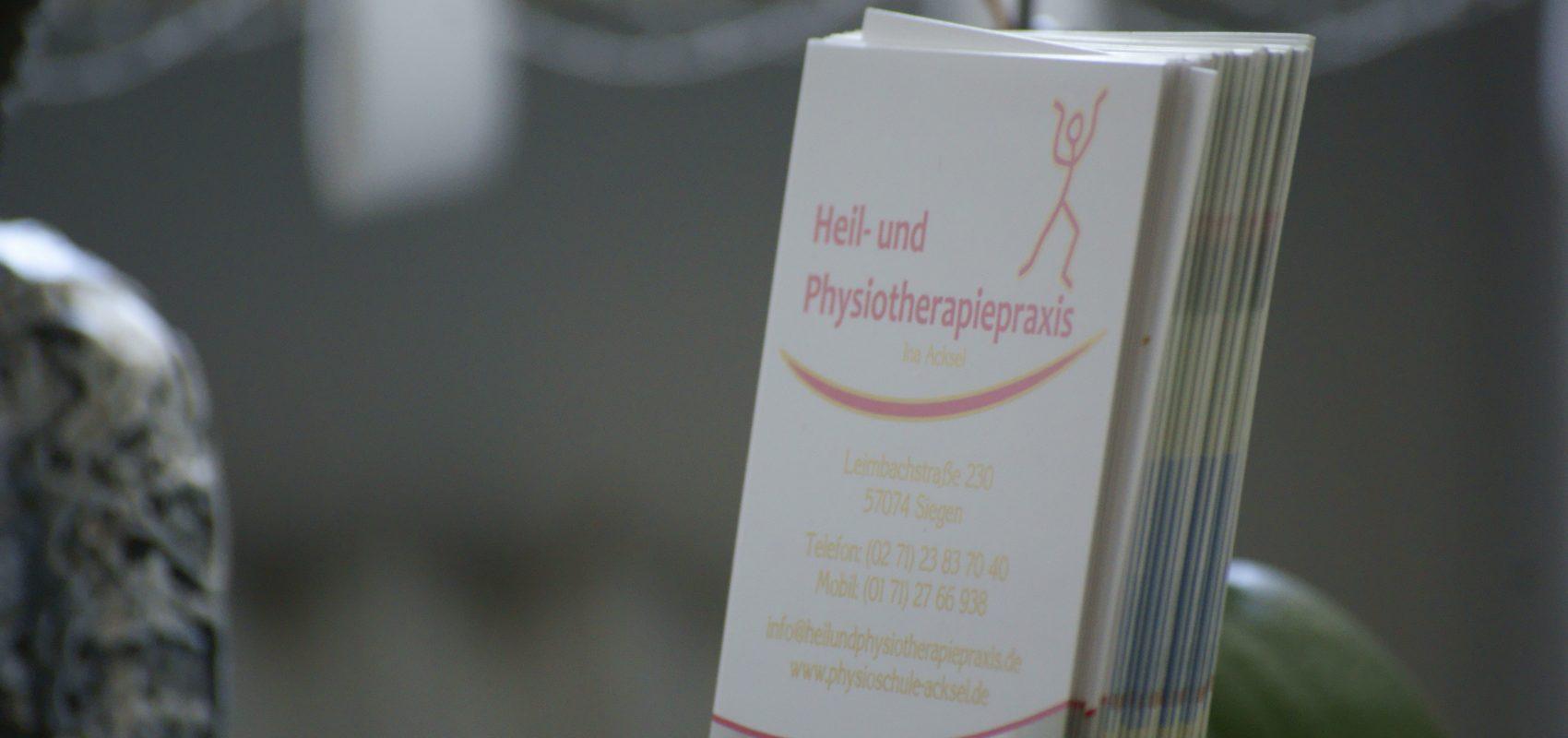 Heil- und Physiotherapie-Praxis Ina Acksel Siegen